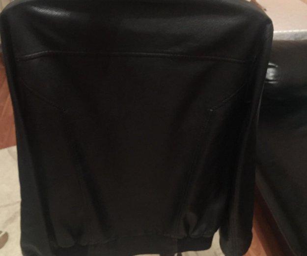 Куртка кожаная. мужская. Фото 3.