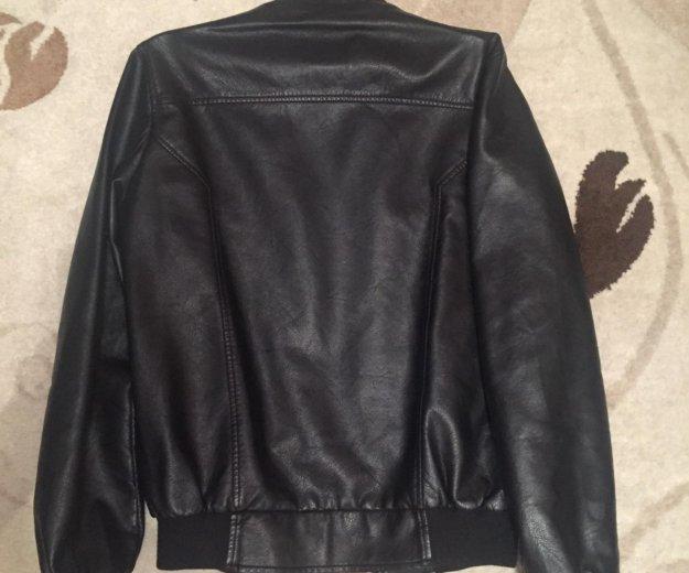 Куртка кожаная. мужская. Фото 4.