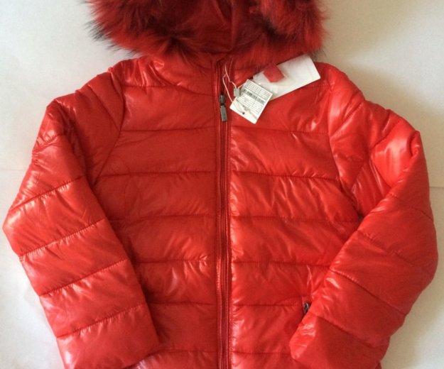 Новая куртка для девочки 8 лет. Фото 1. Москва.