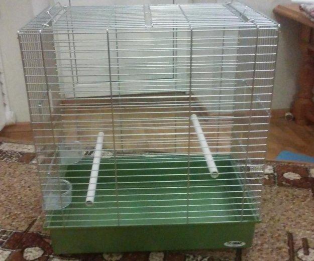 Клетка для попугая imac. Фото 1.