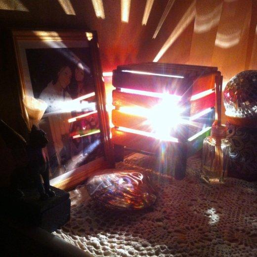 Светильник, ручная работа, дерево. Фото 1. Тюмень.