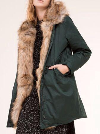 Тёплая зимняя куртка - пальто - парка. Фото 2. Москва.