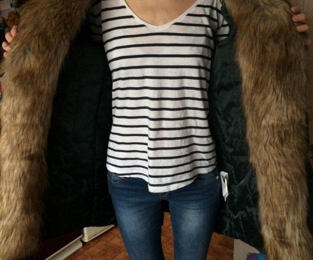Тёплая зимняя куртка - пальто - парка. Фото 4. Москва.