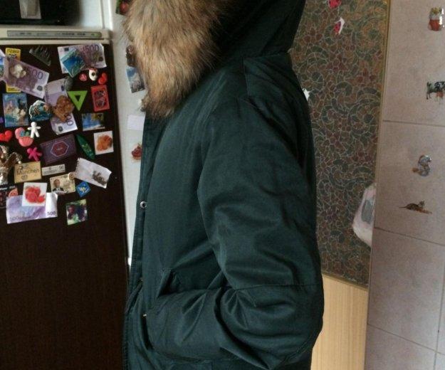 Тёплая зимняя куртка - пальто - парка. Фото 3. Москва.