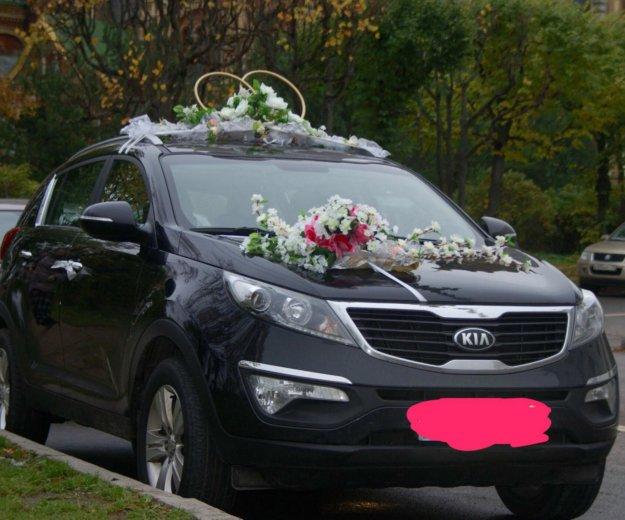 Свадебное украшение и кольца. Фото 4.