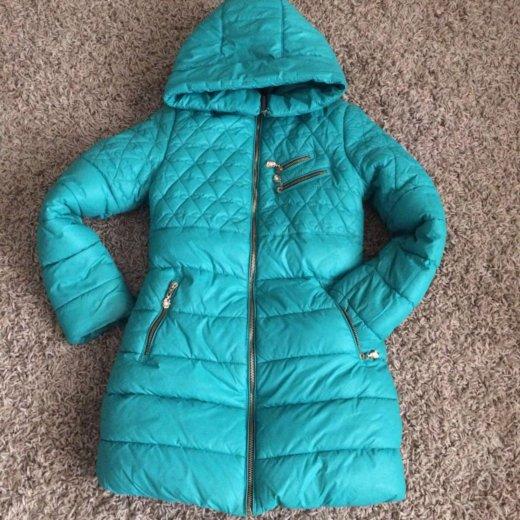 Куртка зимняя 146 размер, для девочки. Фото 1. Краснодар.