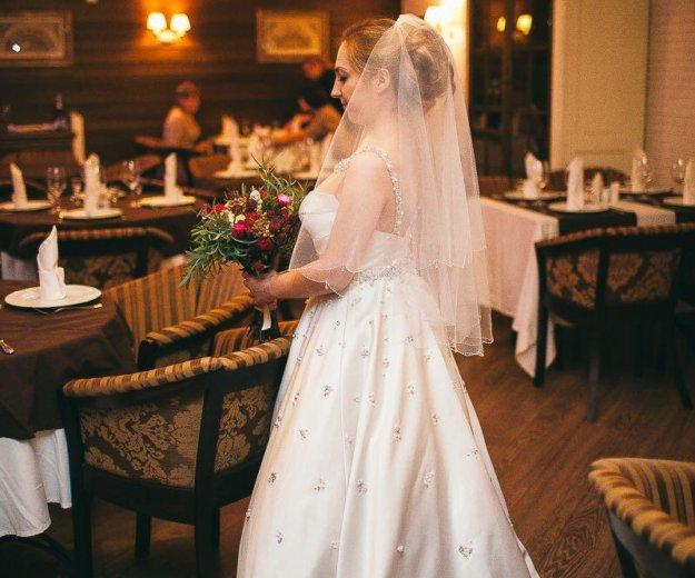 Эксклюзивное свадебное платье. Фото 1. Химки.