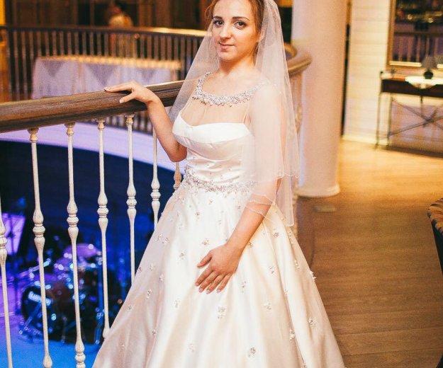 Эксклюзивное свадебное платье. Фото 2. Химки.
