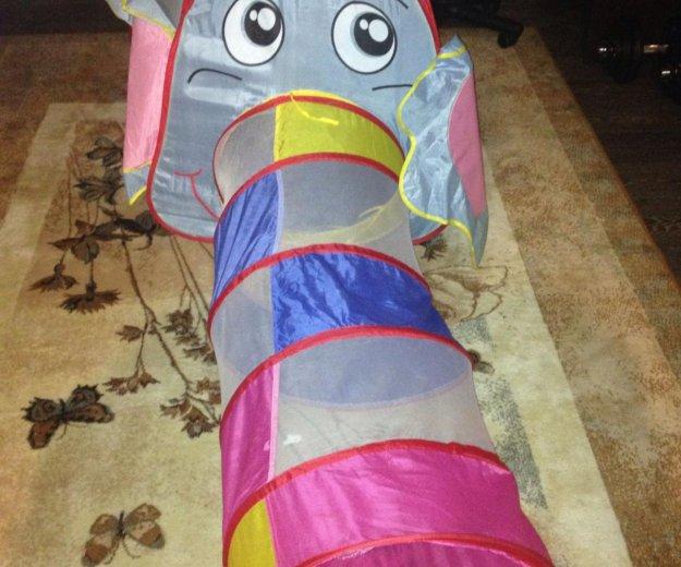 Палатка слоник с туннелем. Фото 1. Тюмень.