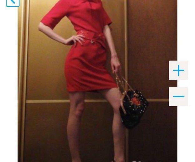 👑prada 👑новое красное платье. Фото 1. Краснодар.