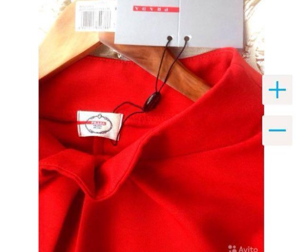 👑prada 👑новое красное платье. Фото 3. Краснодар.