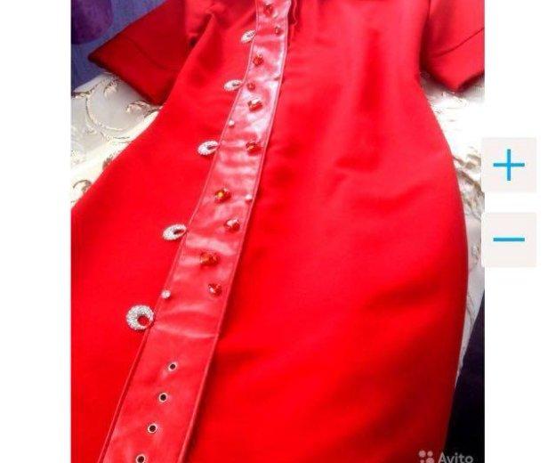 👑prada 👑новое красное платье. Фото 4. Краснодар.