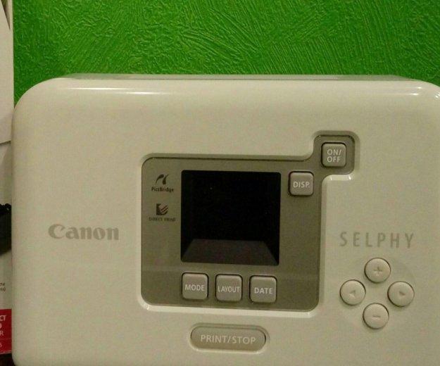 Canon selphy. Фото 1. Реутов.