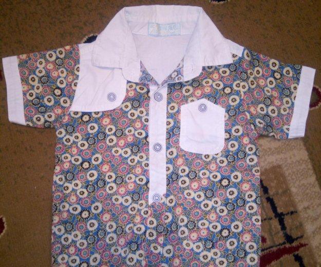 Рубашка и майка. Фото 3. Новый.