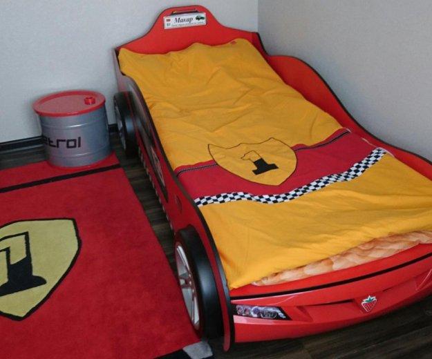 Детская кровать машинка в детскую гоночная машина. Фото 2. Звенигород.