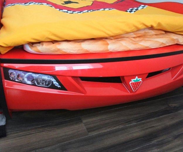 Детская кровать машинка в детскую гоночная машина. Фото 3. Звенигород.