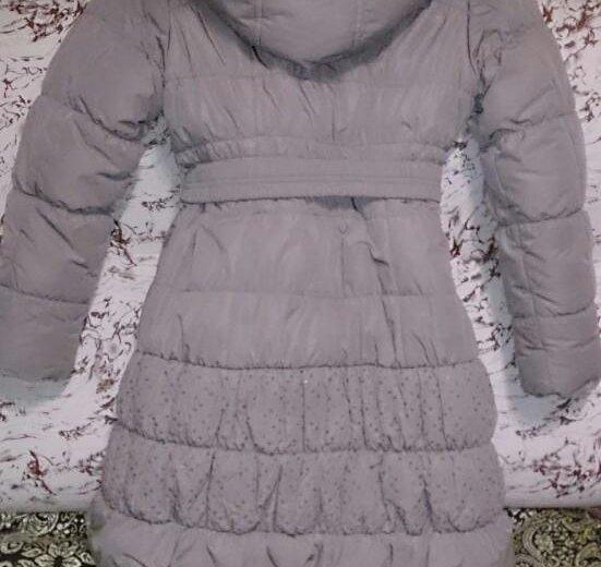 Пальто зимнее. Фото 1. Светлый.