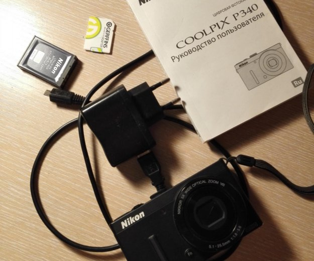 Фотоаппарат nikon coolpix p340. Фото 2. Бронницы.