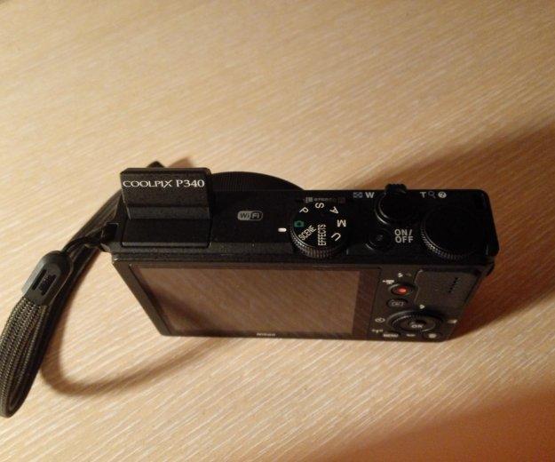 Фотоаппарат nikon coolpix p340. Фото 3. Бронницы.