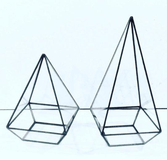 Флорариумы геометрические. Фото 3. Краснодар.