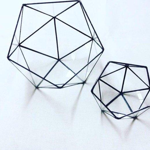 Флорариумы геометрические. Фото 1. Краснодар.