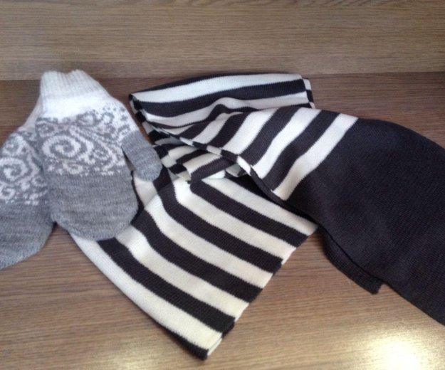 Новый шарф. Фото 1. Артем.