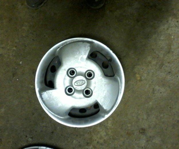 Комплект дисков плюс колпаки на киа пиканто r 13. Фото 1. Волгодонск.
