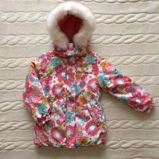 Куртка новая  для девочки 5лет. Фото 1. Москва.