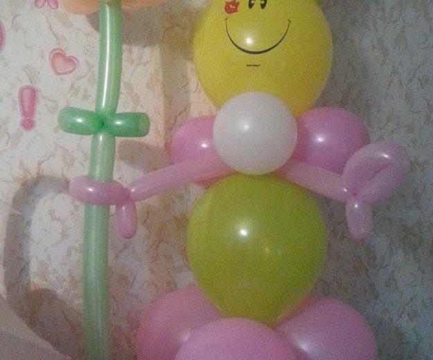 Подарки из шаров. Фото 4. Ковров.