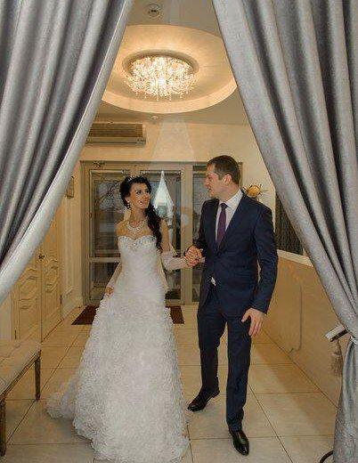 Свадебное платье со шлейфом. Фото 4. Санкт-Петербург.