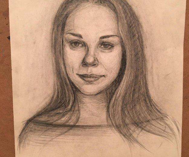 Рисую портреты. Фото 3. Орел.