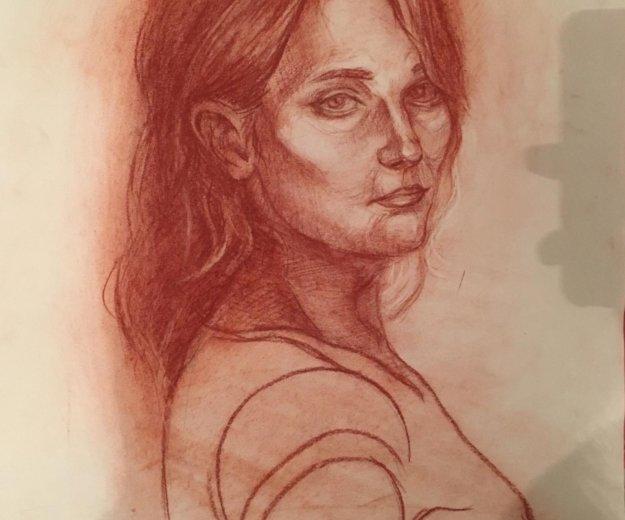 Рисую портреты. Фото 4. Орел.