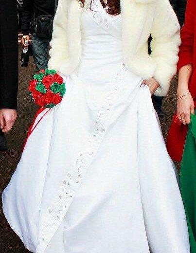 Свадебное платье. Фото 3. Башмаково.