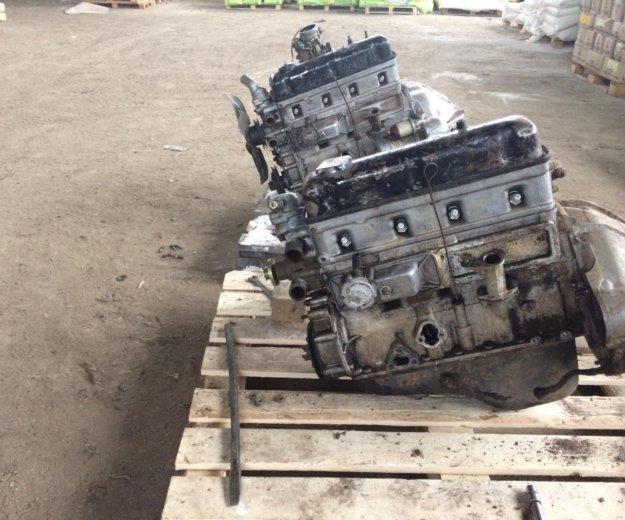 Двигатель на уаз. Фото 1.