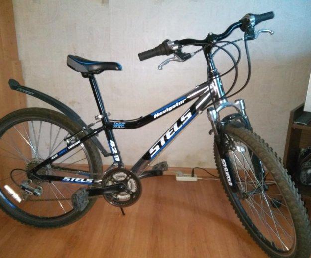 Велосипед подростковый stels navigator 420. Фото 2. Королев.