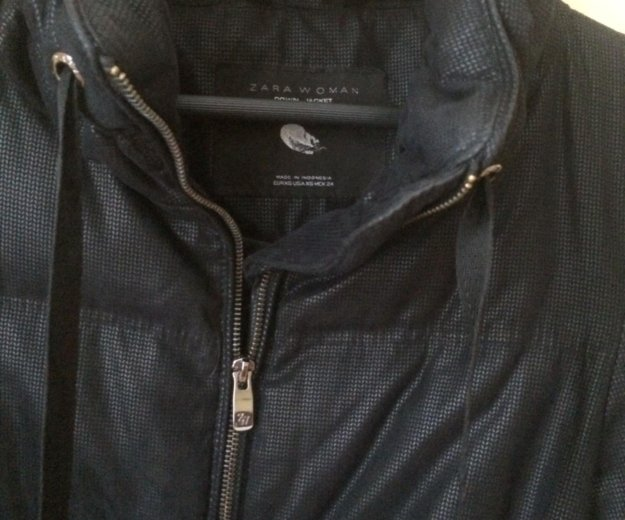 Zara зимняя куртка. Фото 4. Москва.