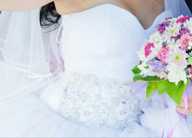 Свадебное платье. Фото 4. Томск.
