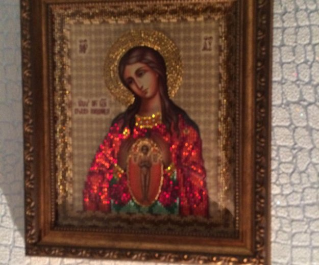 """Икона """"помощница в родах"""". Фото 2. Омск."""