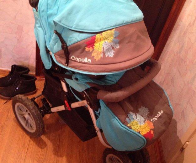 Продаю детская коляска capella prism s-901wf 2014. Фото 4. Москва.