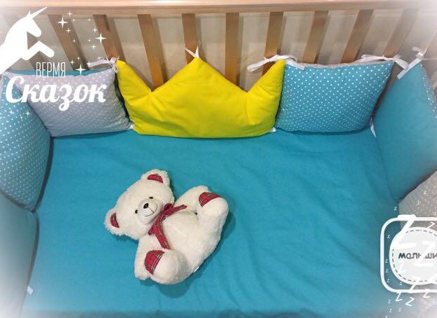 Набор в кроватку новый. Фото 1. Омск.
