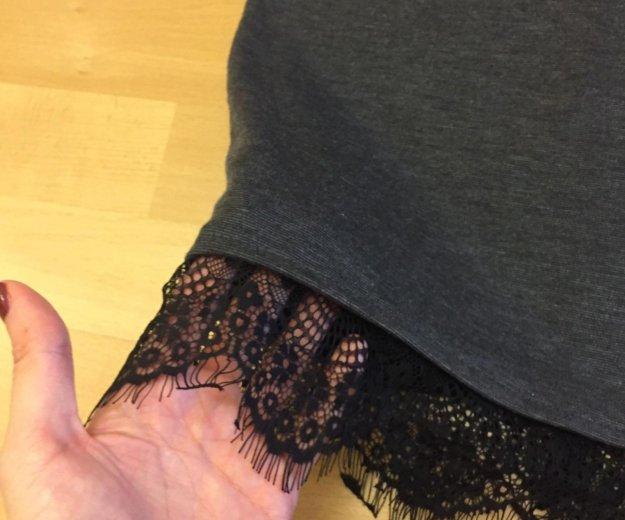 Французское платье с кружевом по низу. Фото 1. Красногорск.