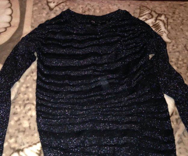 Лёгкий свитер с люрексом. Фото 1. Москва.