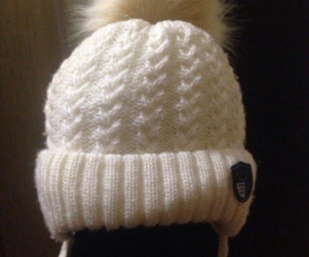 Детская шапочка на зиму. Фото 3.