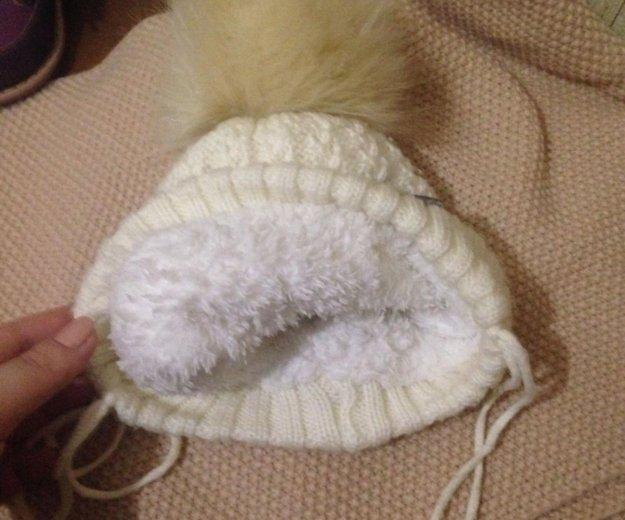 Детская шапочка на зиму. Фото 1.