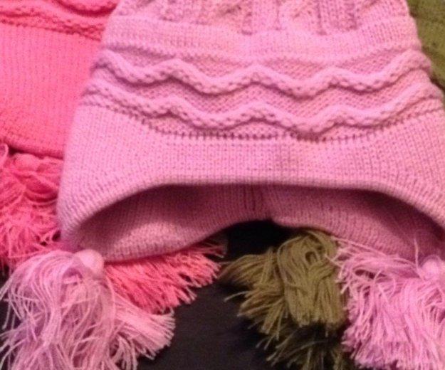 Новые шапочки р52-54 любая 200р. Фото 1. Реутов.