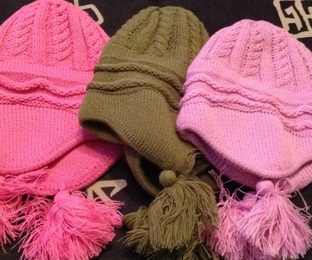 Новые шапочки р52-54 любая 200р. Фото 2. Реутов.