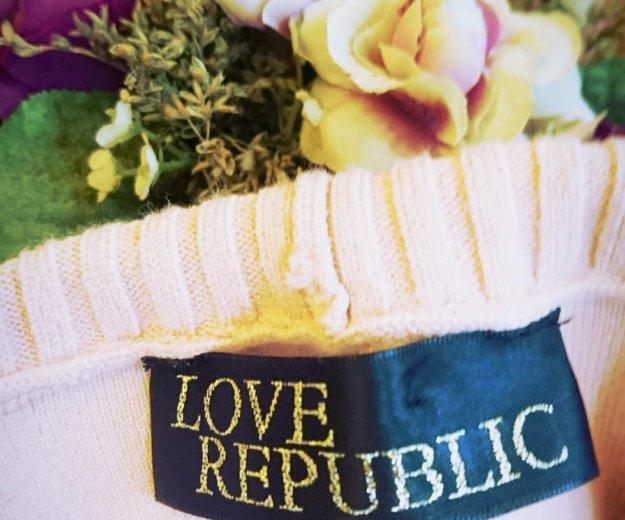 Персиковое платье от love republic. Фото 1. Москва.