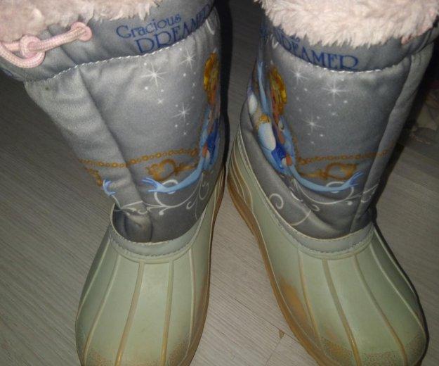 Зимние сапожки. Фото 1. Санкт-Петербург.