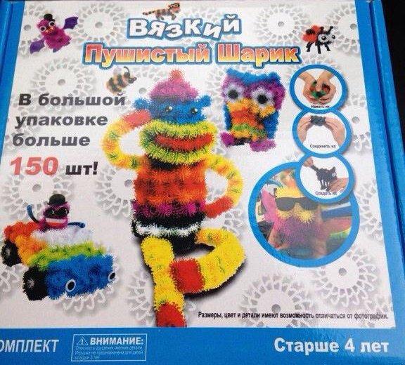 Конструктор-липучка. Фото 2. Красноярск.