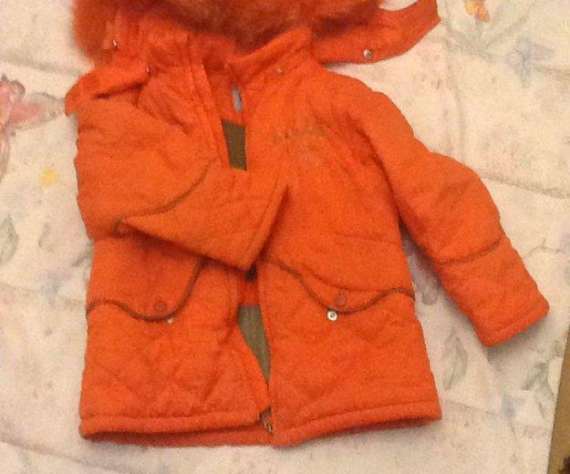 Зимняя куртка  для девочки. Фото 1. Кинешма.